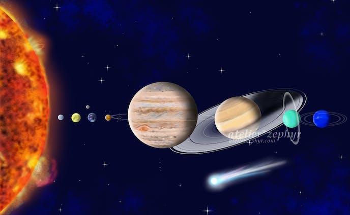 太陽系 / The Solar System