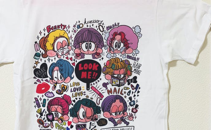 LOOK ME!Tシャツ
