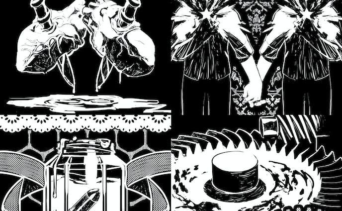 人鬼血盟TRPGブラッドパス スカーレッドナイト - イラスト