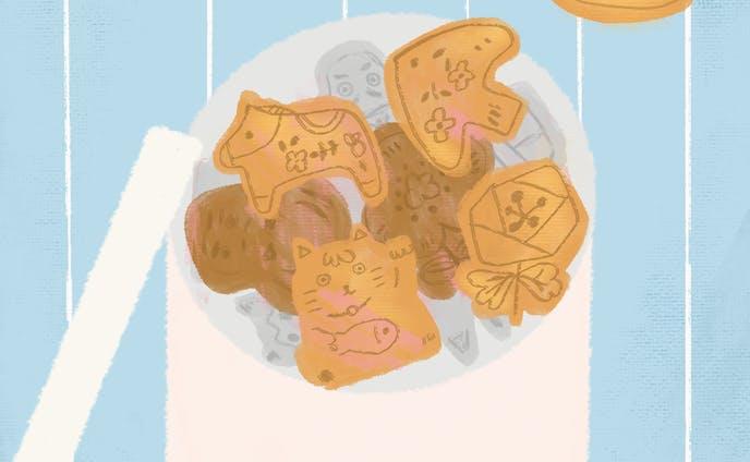 手作りクッキー。