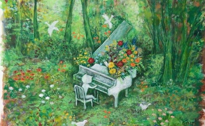 君が歌うと花が咲く