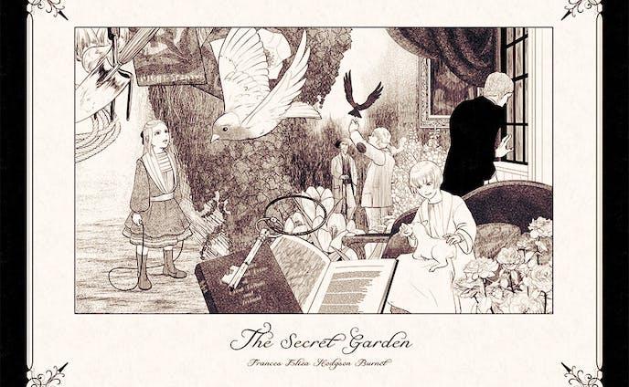 バーネット『秘密の花園』