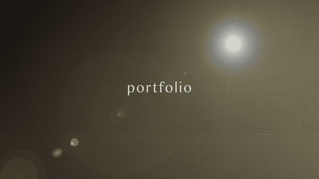 【動画編集】ポートフォリオ/portfolio作ってみた
