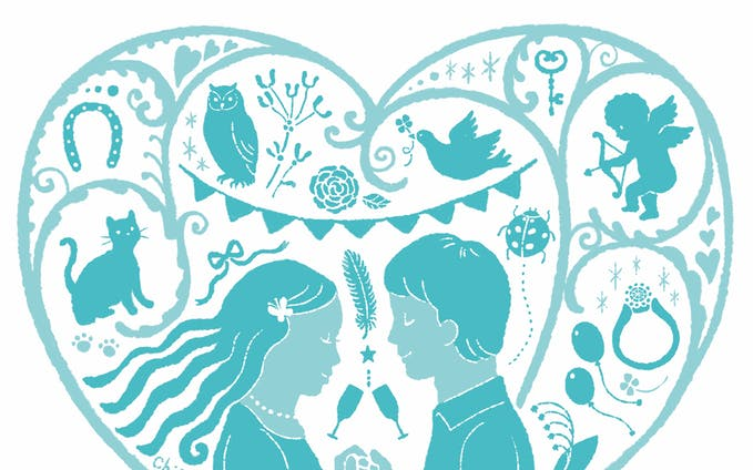 婚活イベントチラシ用イラスト