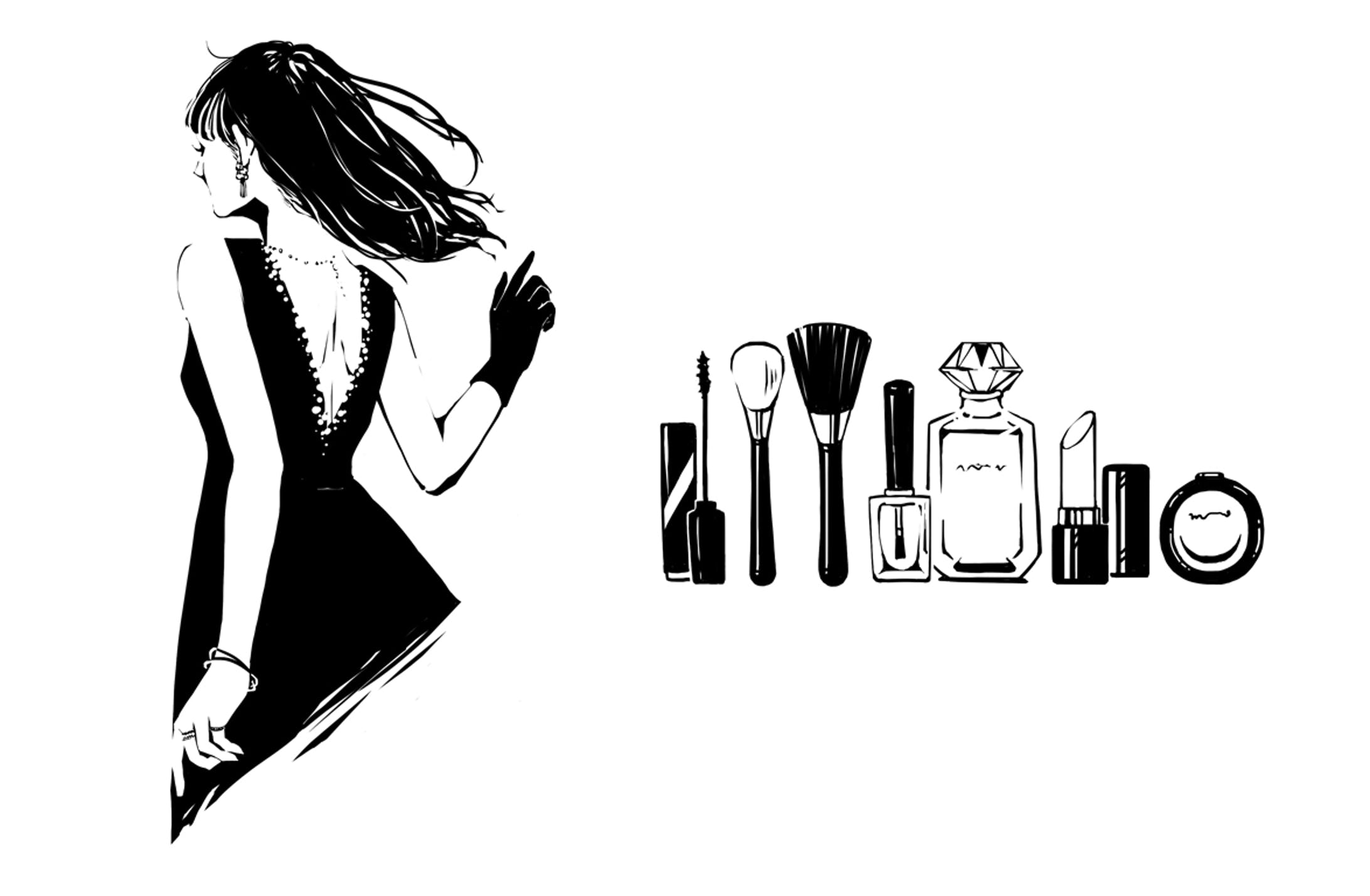 【WORK】装画 「運命をこっそり変える」/ セブン&アイ出版-1