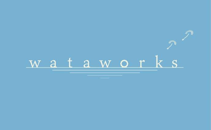 【自主制作】wataworks ロゴ&アイコン
