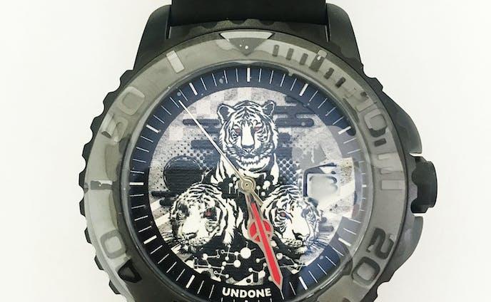 UNDONEコラボ時計