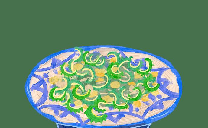 沖縄料理のイラストカット