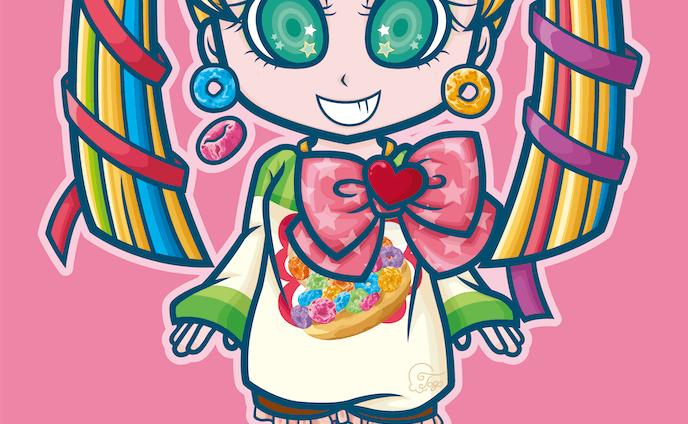 お菓子な女の子1