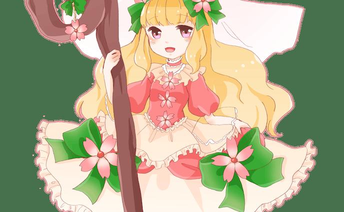 花の魔法少女 ミニキャラクター