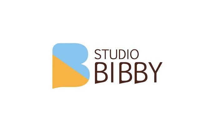 配信スタジオ『STUDIO BIBBY』ロゴなど