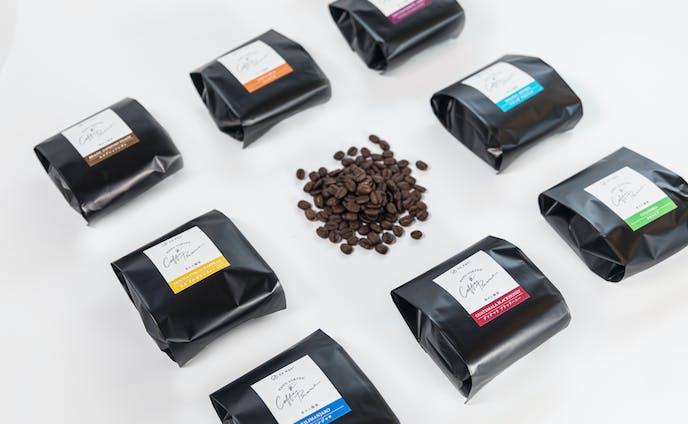 コーヒー豆 パッケージデザイン