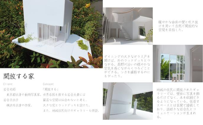 2017/6.3mキューブ空間の住宅課題