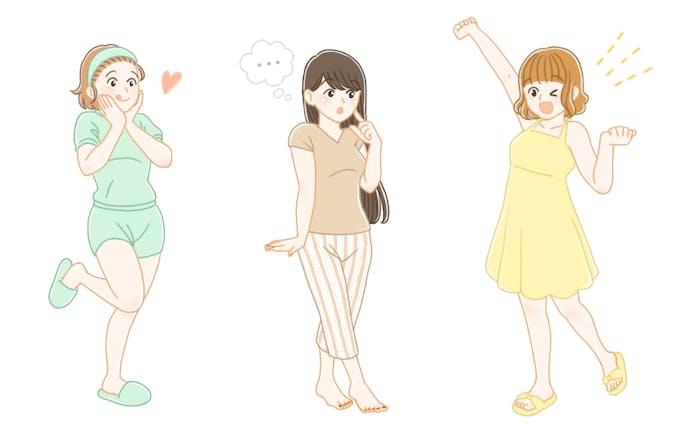 女性向け・雑誌挿絵