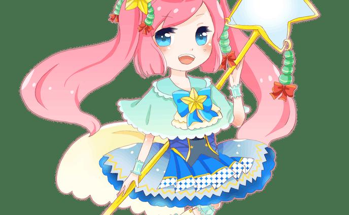 星の魔法少女 ミニキャラクター