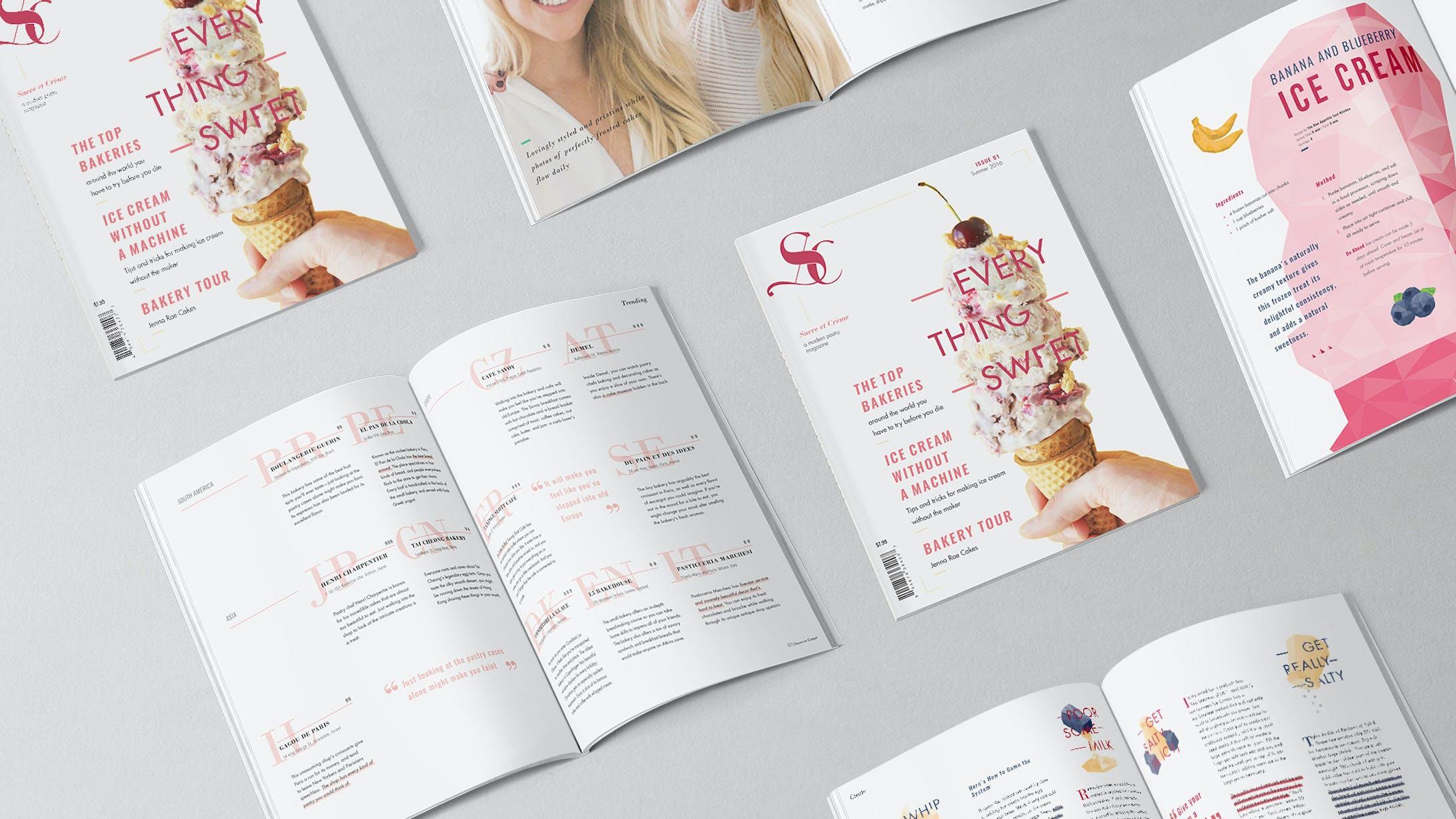 Sucre et Creme: Pastry Magazine-1