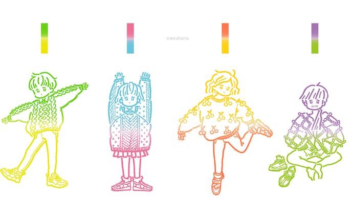 セーターズ|イラストレーション