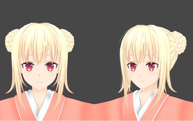 3Dキャラクターモデル「輪廻」