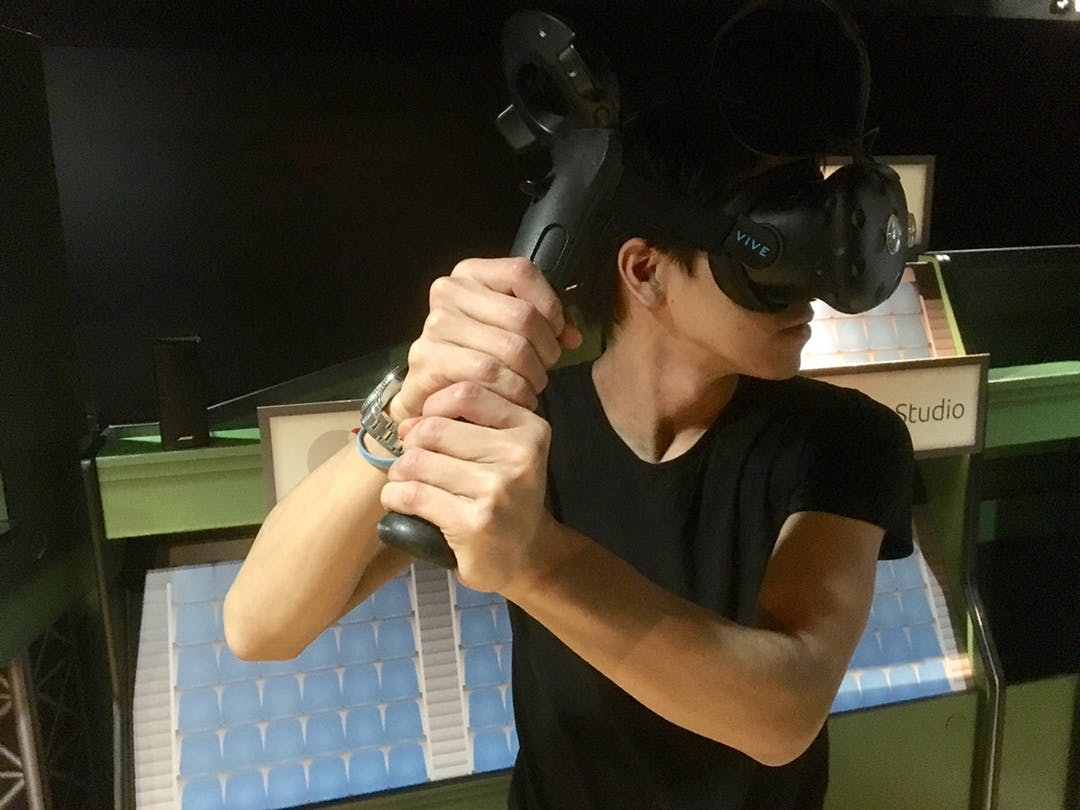 【株式会社メルタの制作事例】VR野球ゲームのバット型コントローラーを制作しました